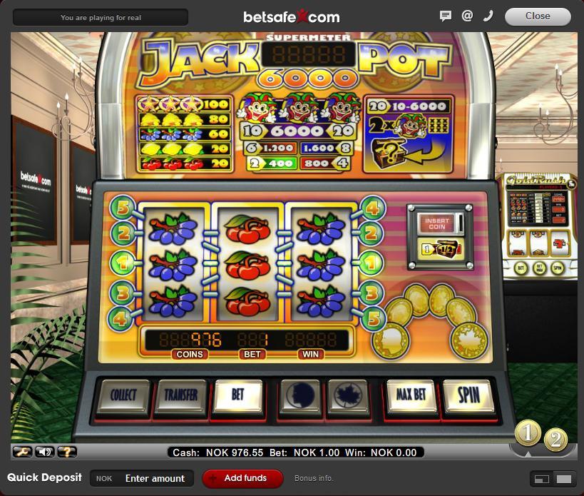 Spill klassiske nettbaserte spilleautomater med tre hjul
